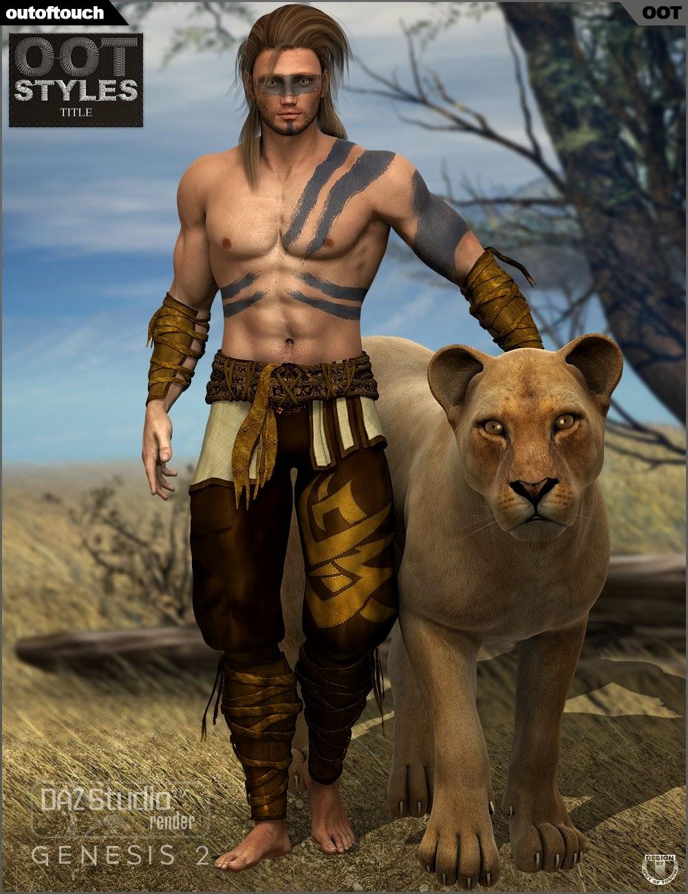Styles de OOT pour la lutte contre Monk pour Genesis 2 Homme