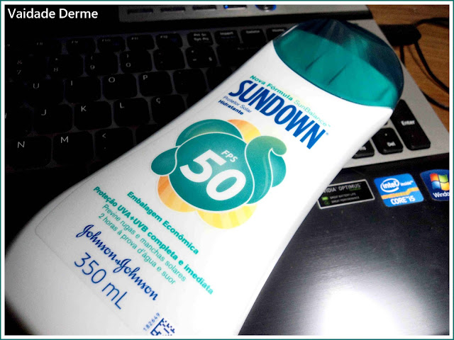 Bloqueador Solar Sundown FPS 50 da Johnson & Johnson