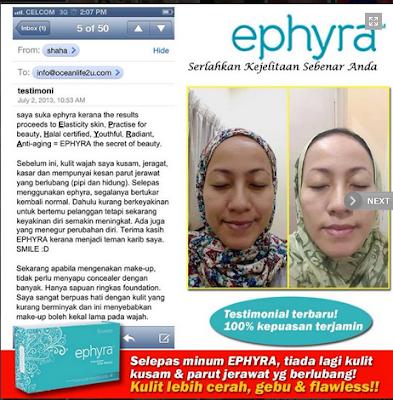 Ephyra Produk Kecantikan Dalaman Dan Luaran Terbaik