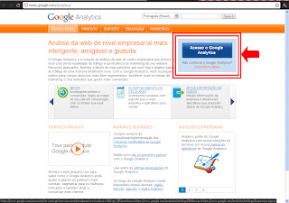 Como colocar o google analytics no blog?, google analytics