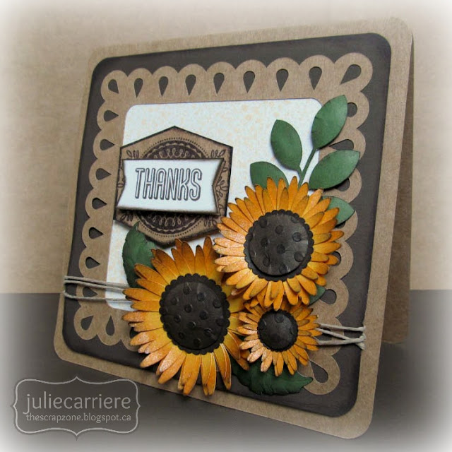 Cricut Art Philosophy Sunflowers