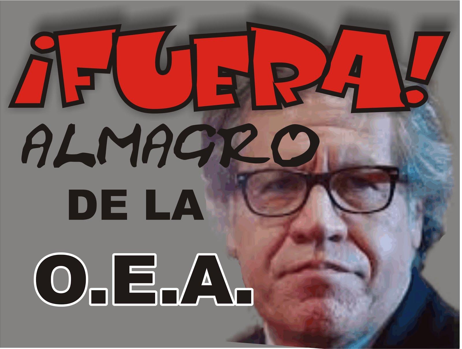 FUERA DE LA OEA...