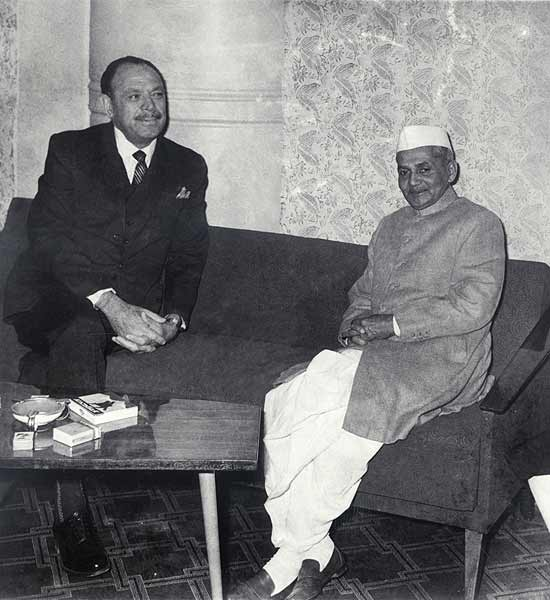 shastri and ayub khan meeting