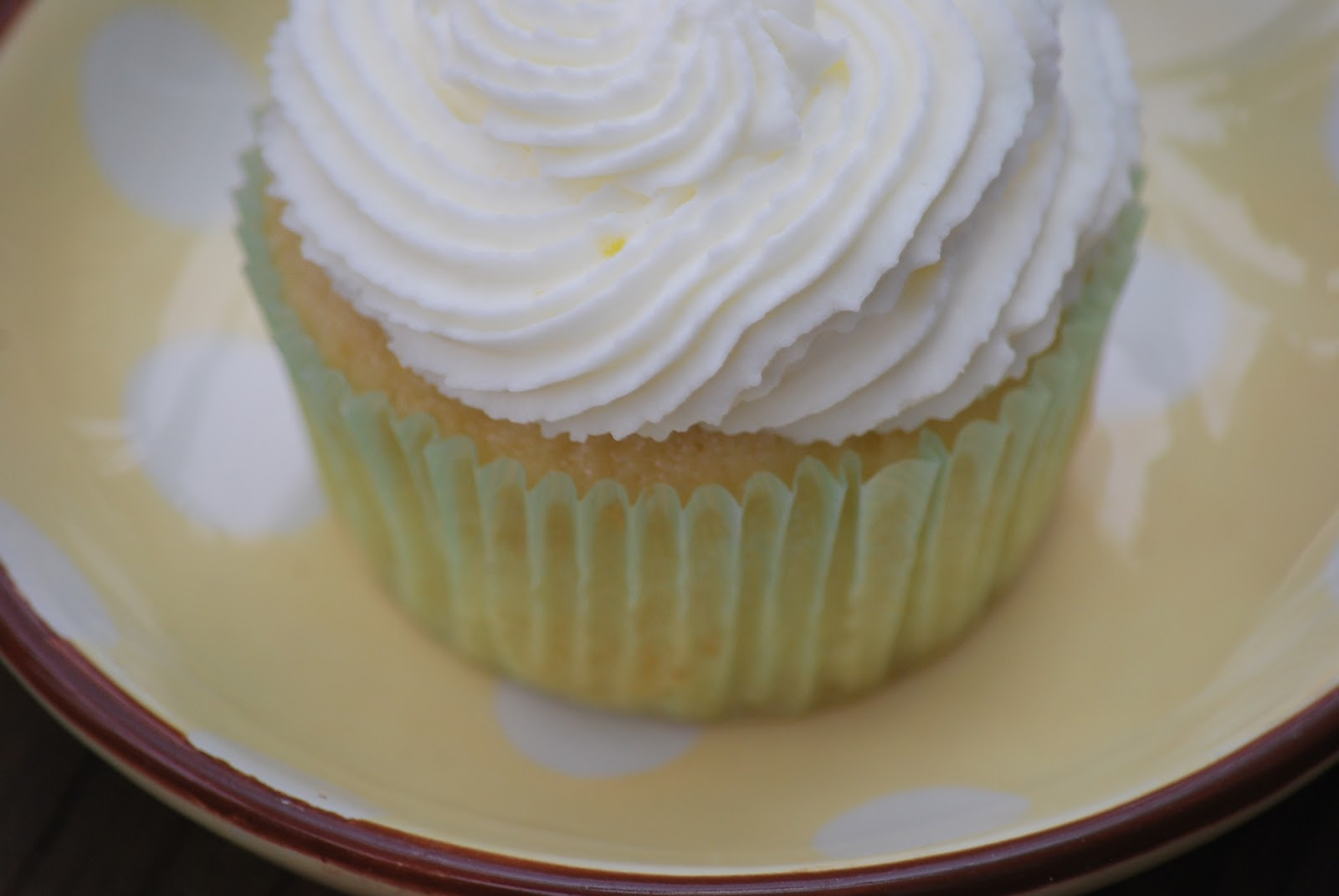 My story in recipes: Lemon Cupcakes with Lemon Whipped Cream
