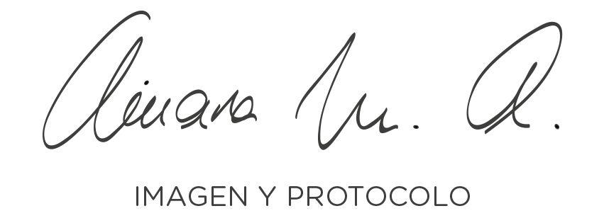 Ainara Monasterio ~ IMAGEN Y PROTOCOLO