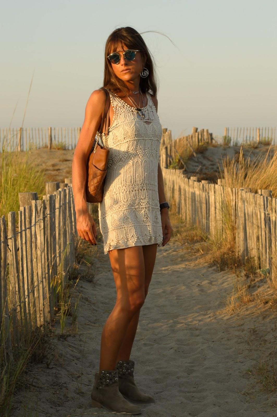 Fashion Musings Diary Crochet Dress Episode 2 My Back To School Beach Look Robe Crochet Episode 2 Mon Look De Rentree Au Parfum De Plage