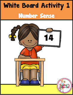 White Board Activity Number Sense