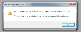 "Solution to ""You do not have permission to run the 'Object Name' Object Type.  Contact your system administrator to have your permissions changed."" 