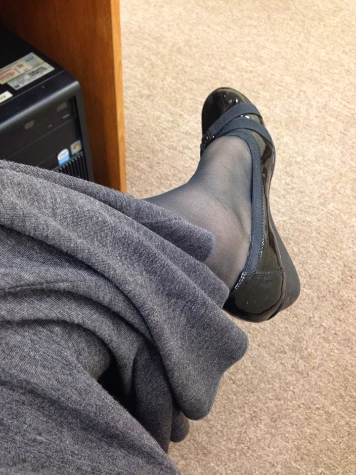 Nicole Pantyhose out of style missionary