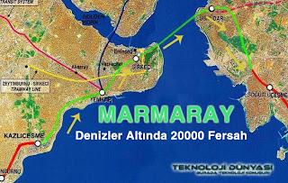 marmaray projesi güzergah