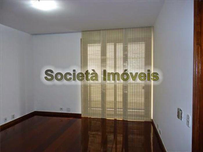 Apartamento de luxo no Rio de Janeiro.