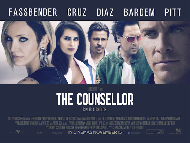 The Counsellor Film Poster