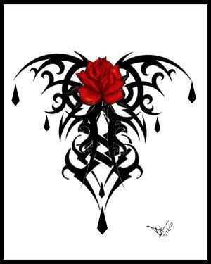 Rosas para dibujar y colorear