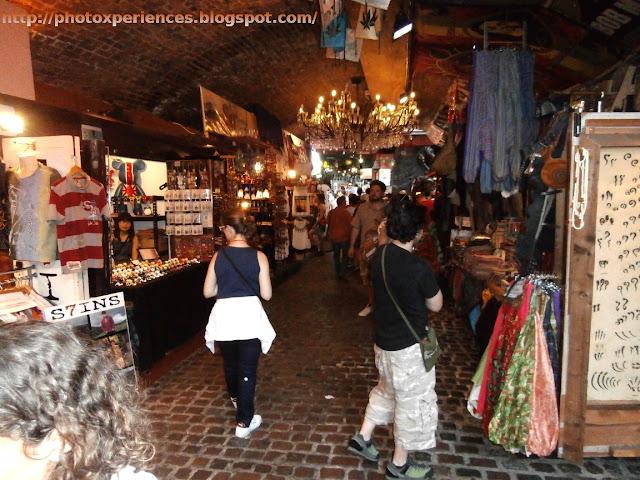 Horse Tunnel Market. Camden, London. El Mercado del Túnel de Caballos. Camden, Londres.