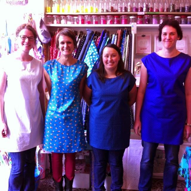 Henry et henriette l 39 atelier couture tunique facile for Atelier couture a nantes