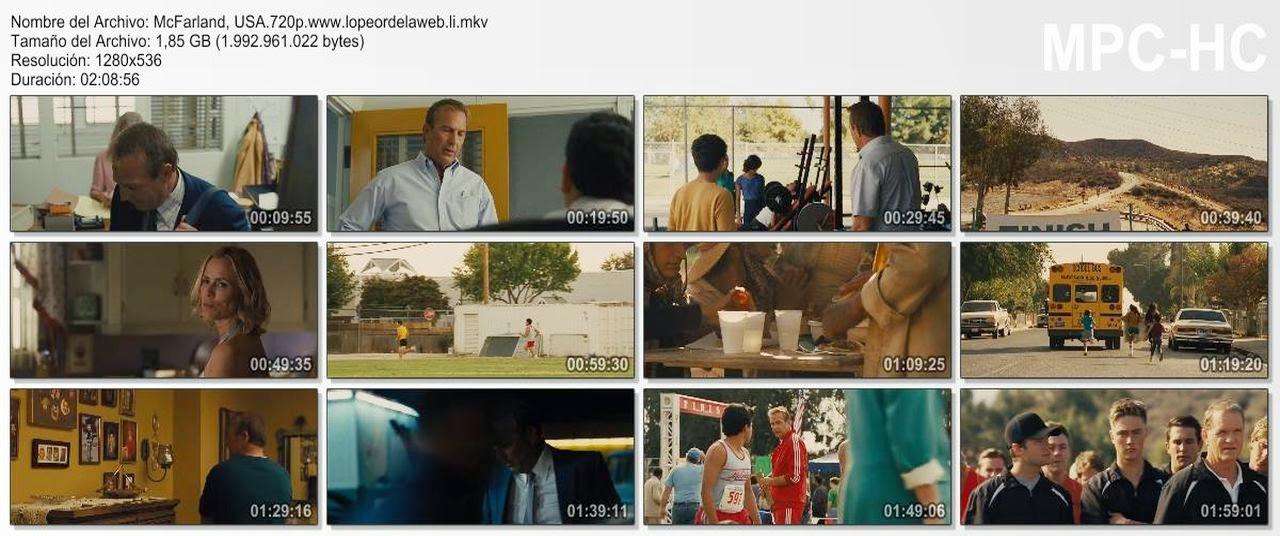 McFarland, USA (2015) BRrip 720p Latino-Inglés