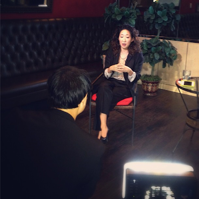 sandra oh interview with YTN Korea