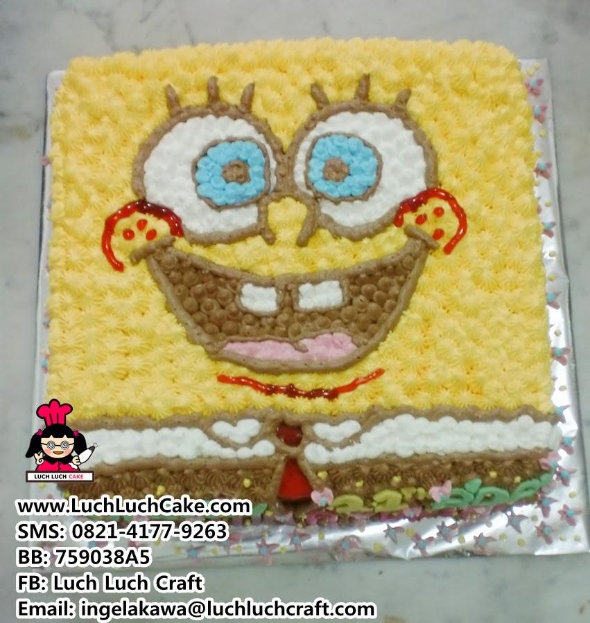 kue tart spongebob murah