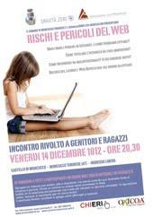RISCHI E PERICOLI DEL WEB
