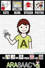 Este blog colabora con Arasaac