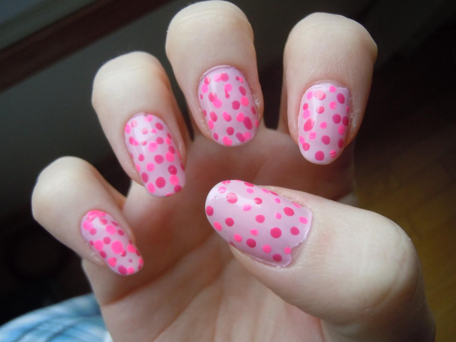 little girl pink nail designs little girl nail designs - Little Girl Nail Design Ideas