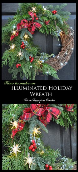 A Wreath with Lights!