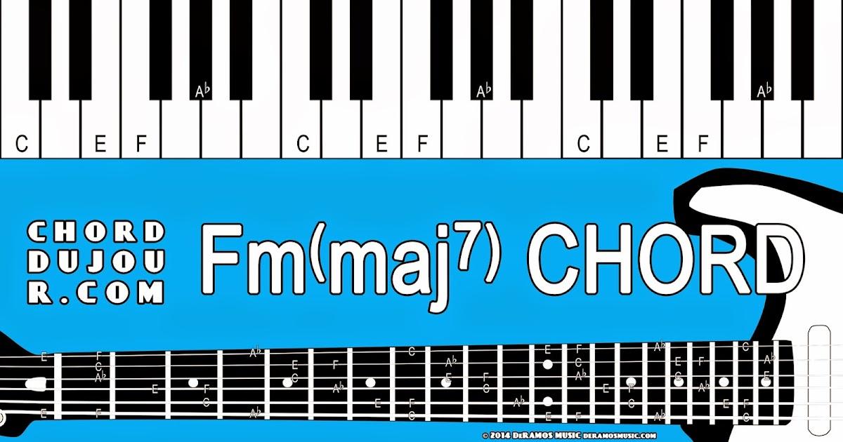 Chord Du Jour Dictionary Fmmaj7 Chord
