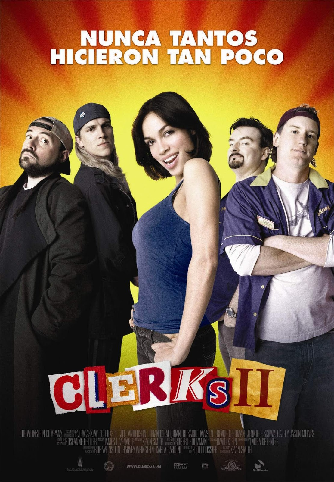 Portada Clerks 2 Kevin Smith