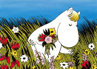 What inspired band name Mumiy Troll - finland-moomin-picking-flowers