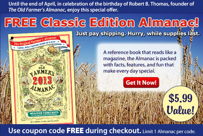 Farmers almanac best days first day of spring vernal for Farmers almanac fishing calendar