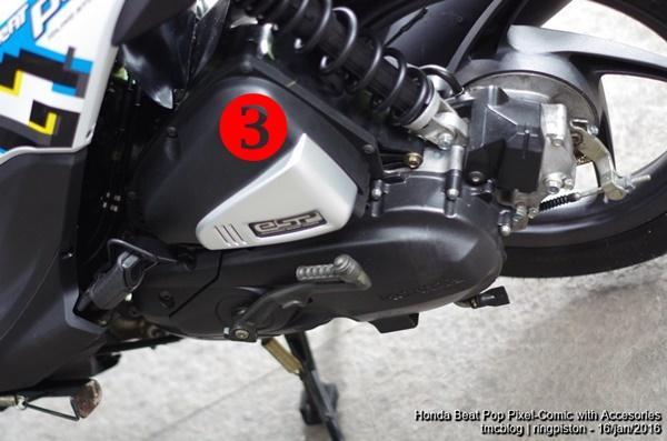 Asesoris Honda Beat POP eSP Comic dan Pixel