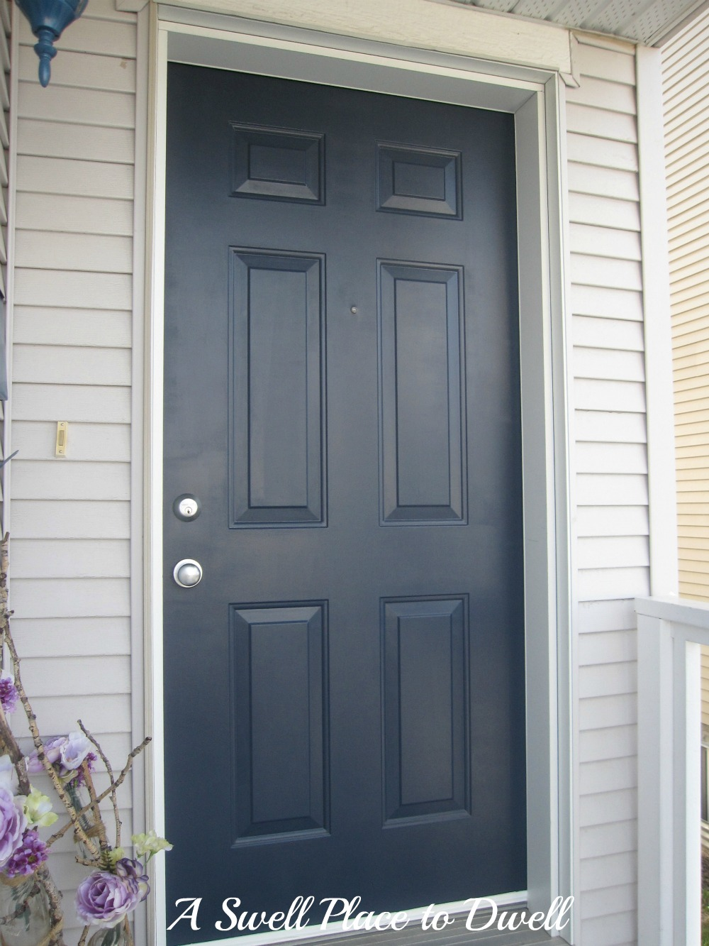 Dark blue front doors - Dark Blue Front Doors 12