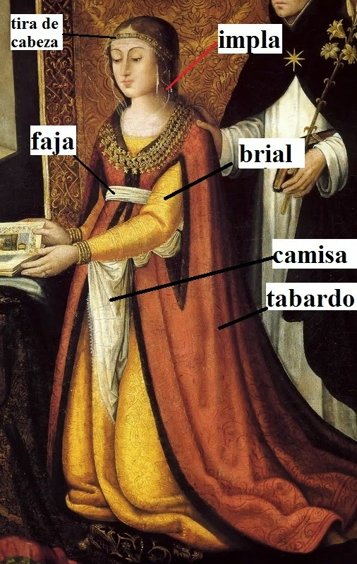 Santo Domingo De La Calza Spain  city photos : ... VIDA COTIDIANA en ESPAÑA: Indumentaria de Mujer entre 1500 1510