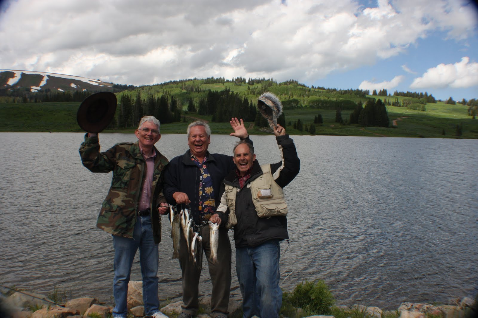 Rich Ideas: Fishing at Whitney Lake in the Uinta Mountains