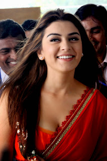 Hansika Motwani in Spicy Red Salwar Chunni WOw what a beauty
