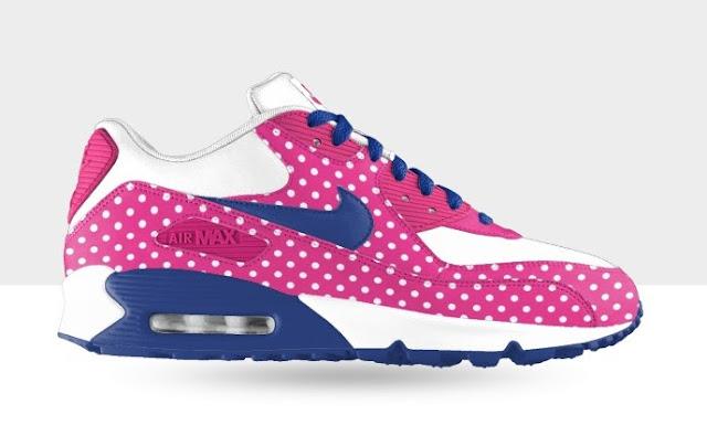 Nike ID Air Max 90 WMNS Polka Dot