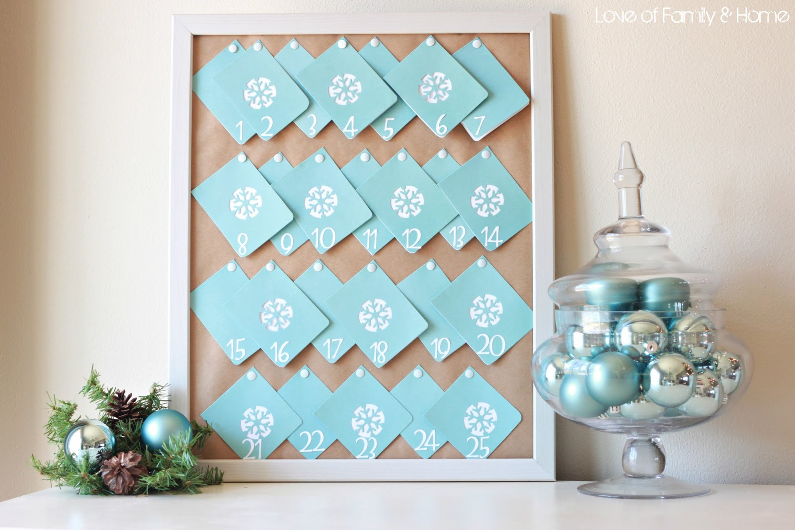 Advent Calendar Diy Ideas : Diy advent calendar love of family home
