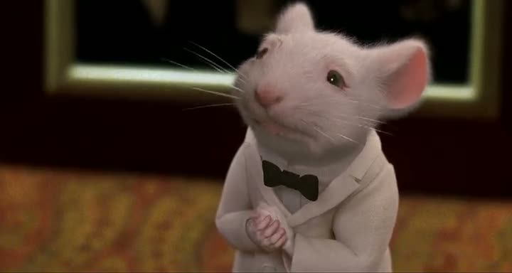 Screen Shot Of Stuart Little (1999) Dual Audio Movie 300MB small Size PC Movie