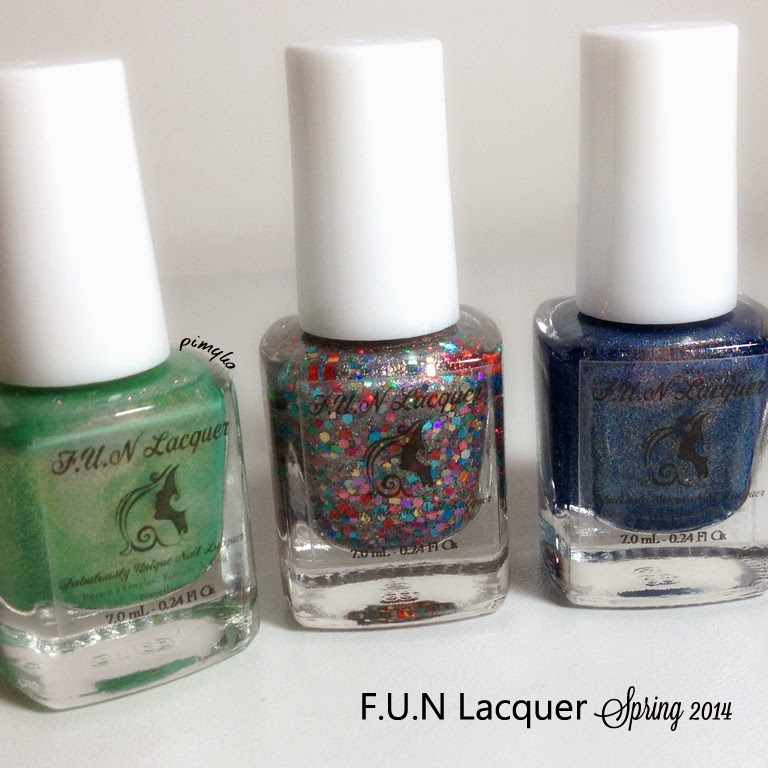 pimyko swatch Spring 2014 collection by Fun Lacquer