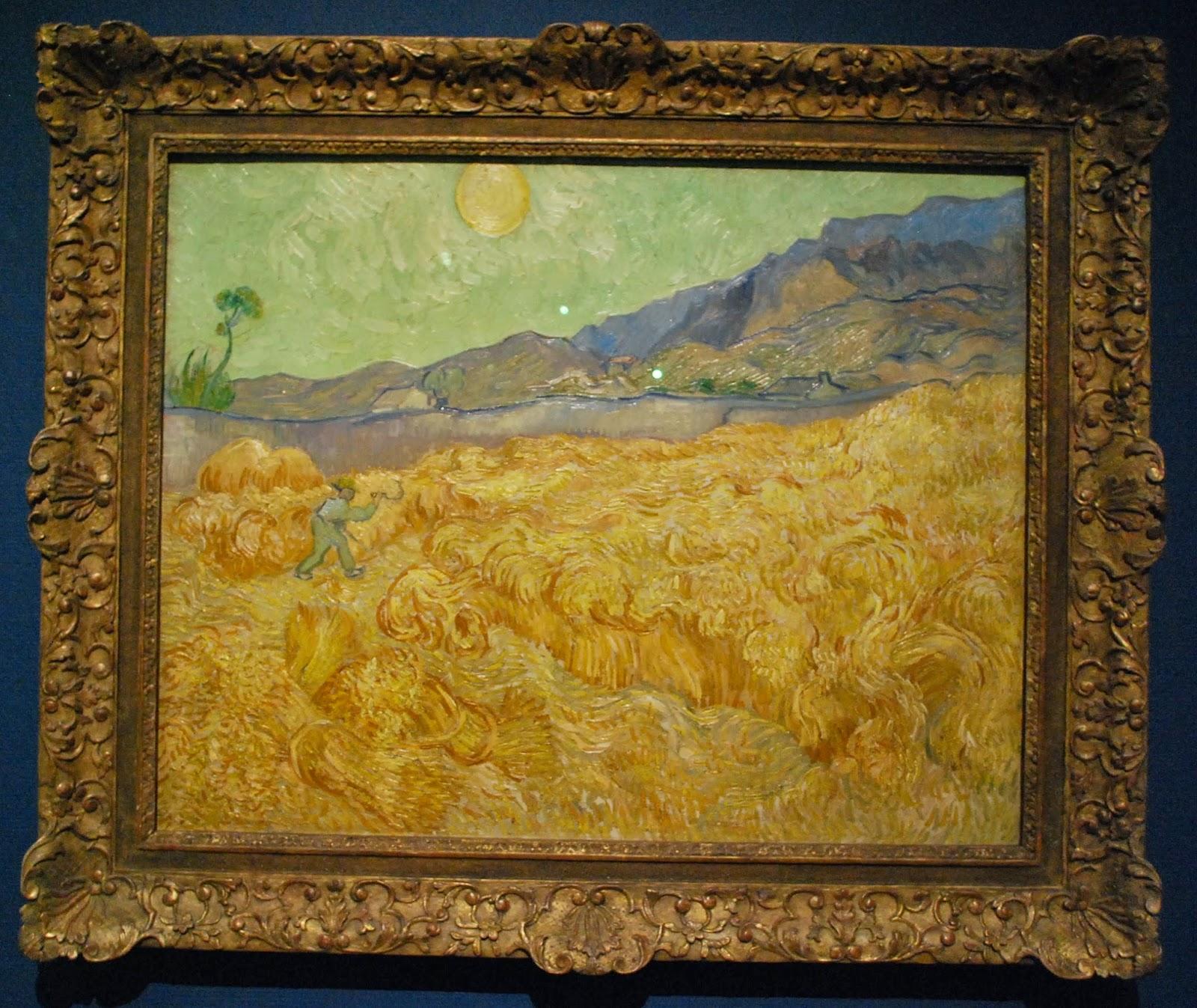 champs paysan Van Gogh
