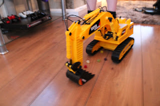 Mega Machines Wire Controlled Super Toy Excavator