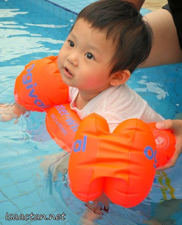 Swim, float, walk..
