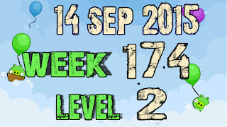 Angry Birds Friends Tournament level 2 Week 174