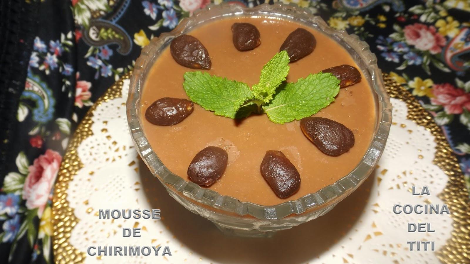 Mousse de Chirimoya