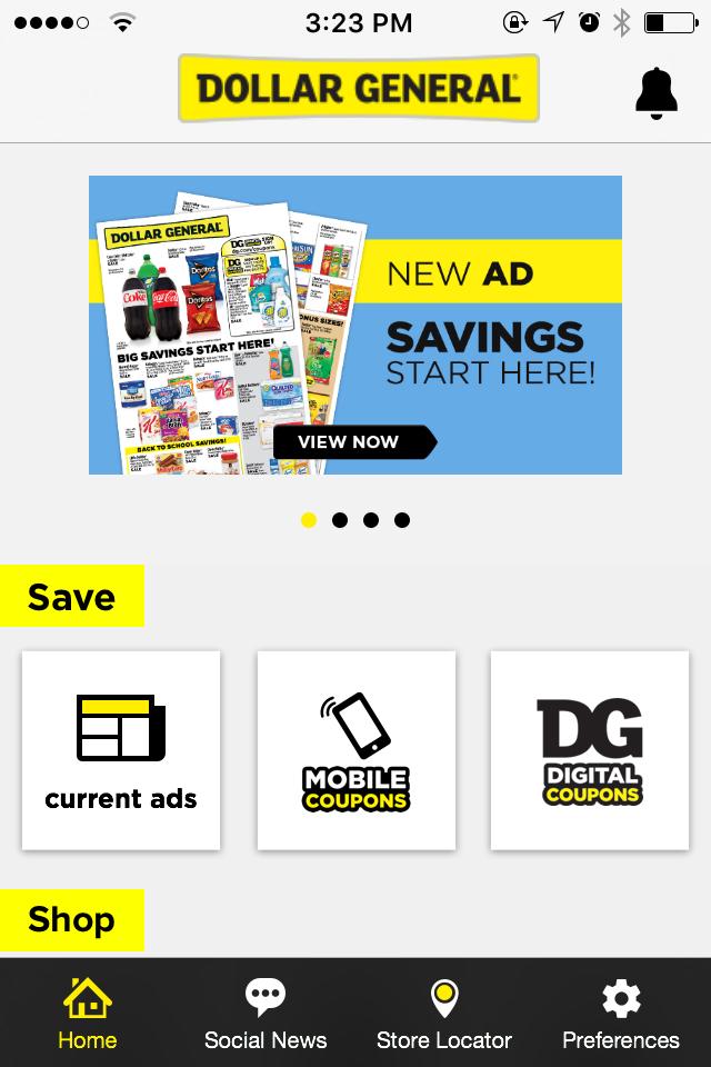 Dollar general digital coupons login