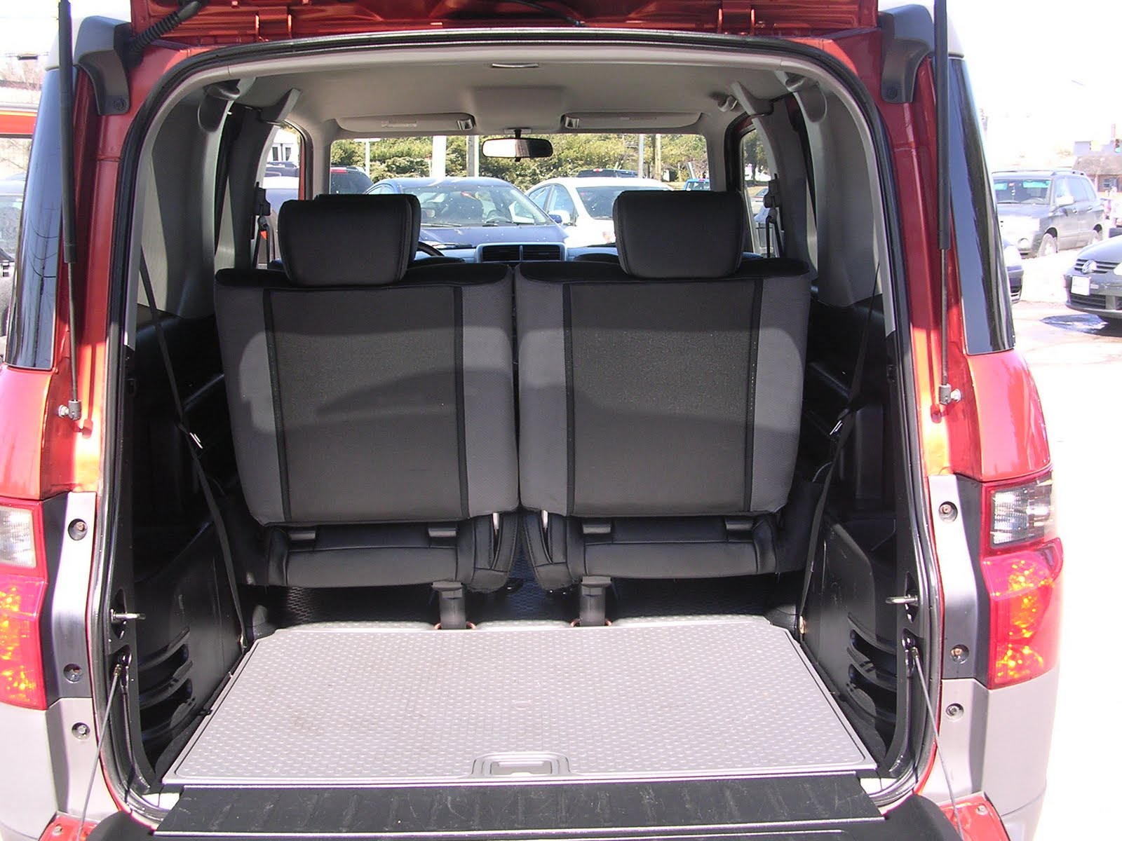 When parked the element can be set up to serve as a giant locker for surfboards and other large items a great feature msn autos