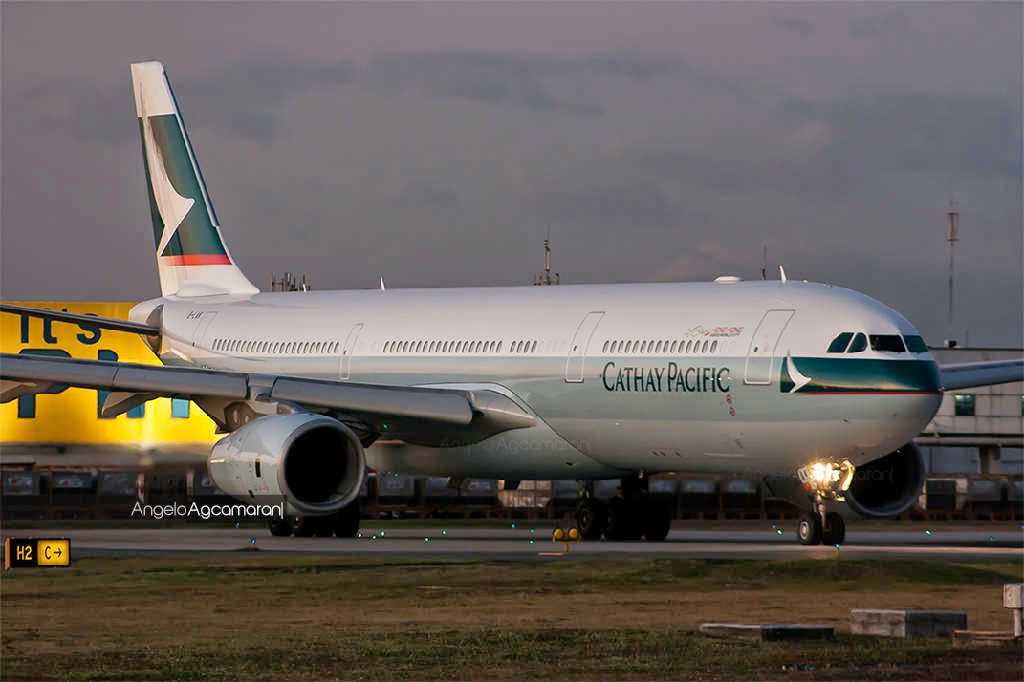 cathay pacific manila flights