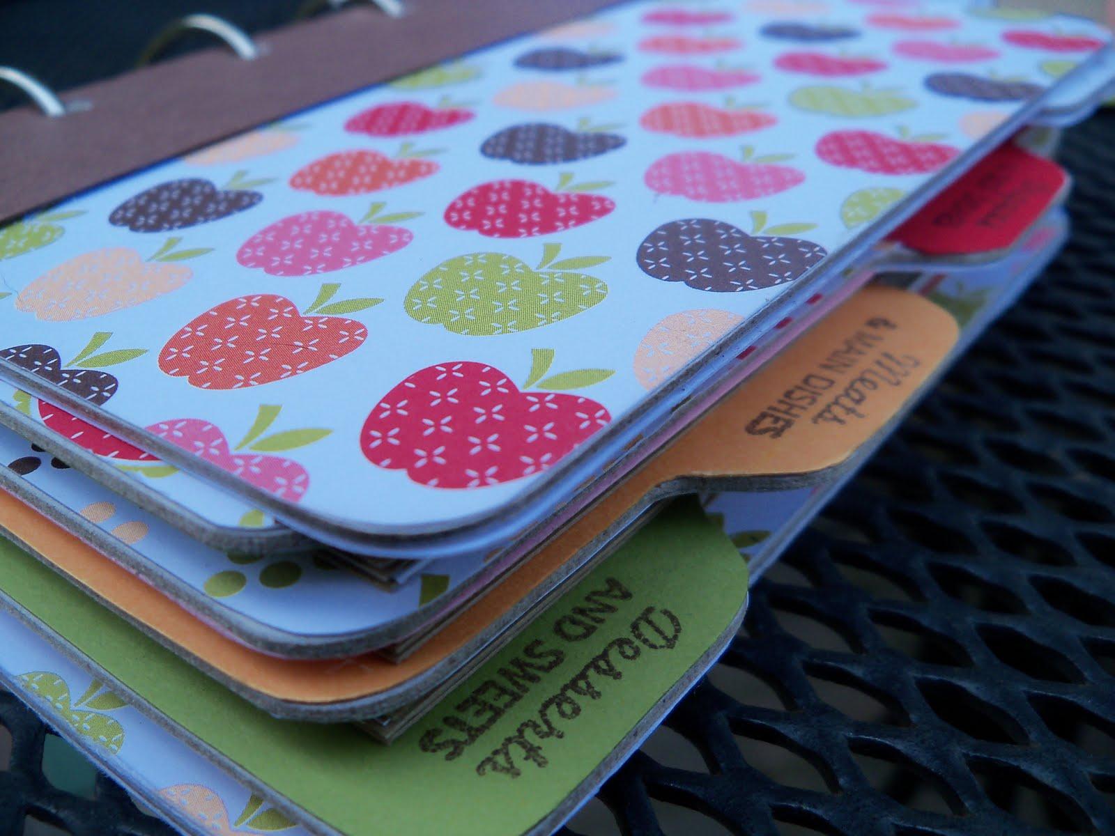 How to scrapbook a recipe book - Cookbook Scrapbook
