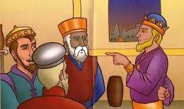 Os pastores e o rei Herodes