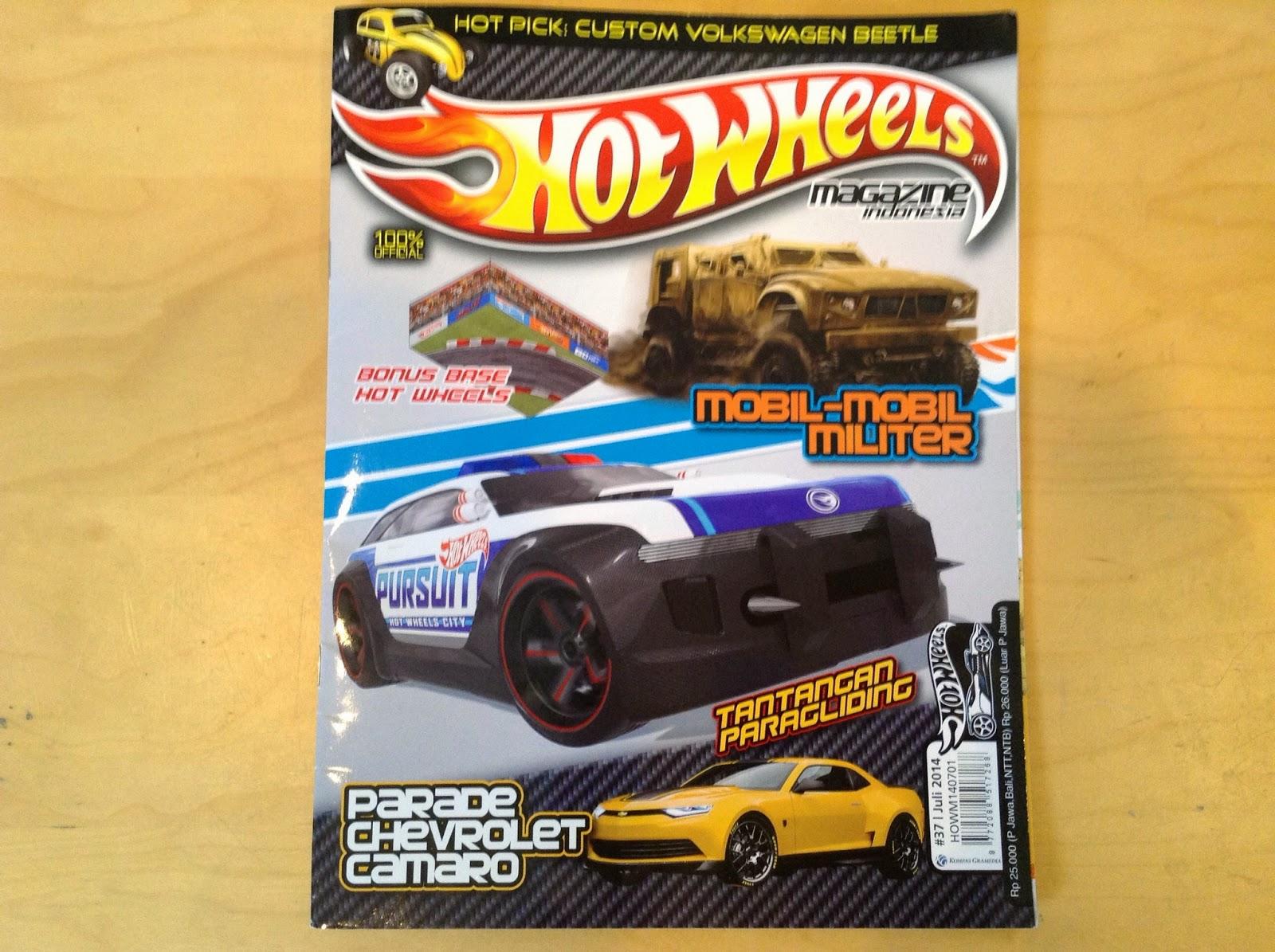 Julian\'s Hot Wheels Blog: Hot Wheels Magazine Indonesia